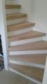 trapbekleding van eikenhout