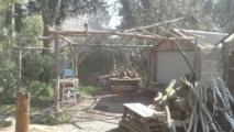 rondhout overkapping organische vorm 1