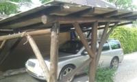 carport open constructie