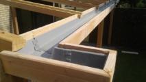detail 3 veranda van larixhout